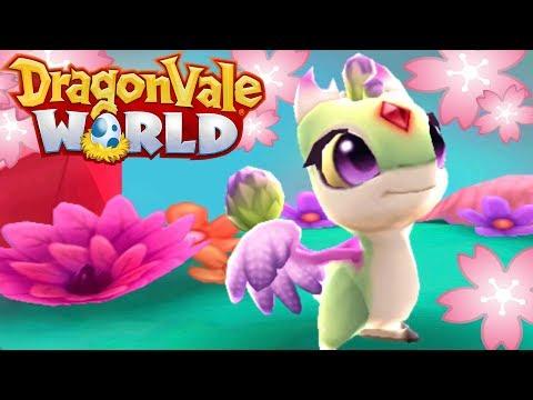 Whimsical Wisteria Dragonet!! 🐲 DragonVale World - Episode #18