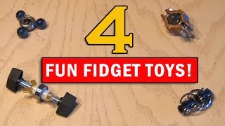 Download Kill that Boredom with 4 Fun Fidget Toys you can Make! Video