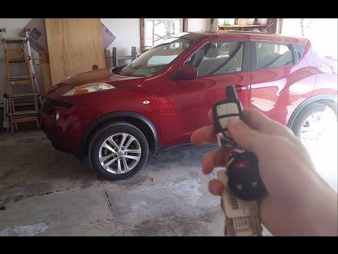 Nissan Juke Remote Start - Crimestopper RS4-G5