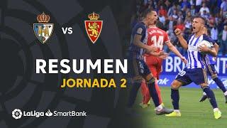 Resumen de SD Ponferradina vs Real Zaragoza (1-1)