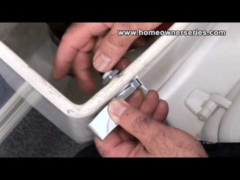 Flush Handle Replacement