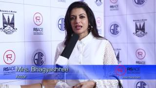 Bhagyashree Speaks About RSACE