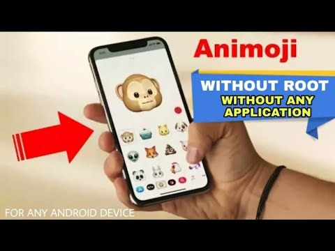 How To Get iPhone X Animojis For Any Android Device  Without Any App  Without Root