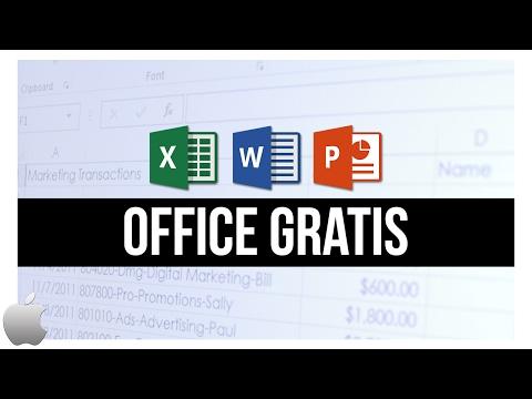Cómo descargar OFFICE GRATIS 100% LEGAL (Para Mac OS X)