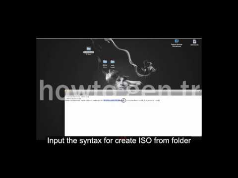 Create/Make ISO image from a folder in MAC/OSX