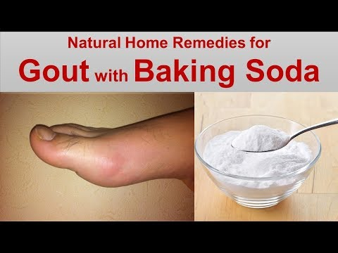 Natural Home Remedies for Gout with Activated Charcoal and  Baking Soda