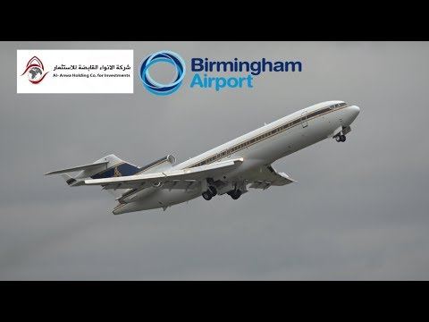 *Rare 727 at Birmingham* Al Anwa Aviation Flight HZAB3 (BHX to London Stansted)