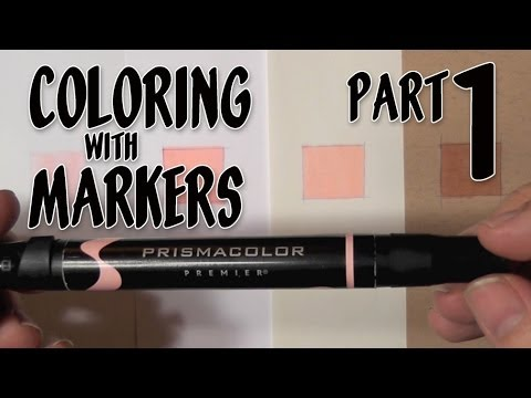 Coloring with Markers - Part 1