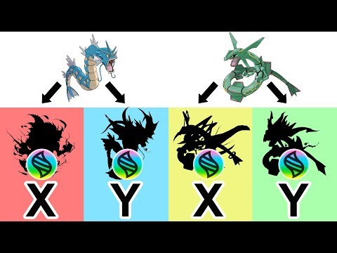 Future Pokemon Mega Evolutions: Mega Rayquaza X, Y - Mega Gyarados X, Y #5.