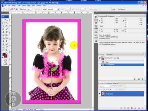 How to Make Simple Borders and Frames in Photoshop