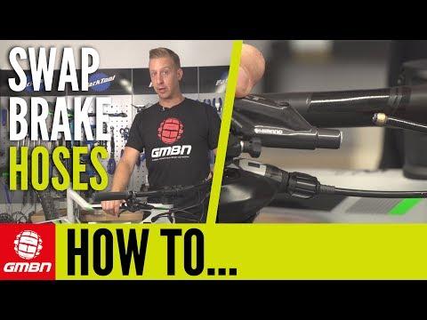 How To Swap Hydraulic Brake Hoses | MTB Maintenance