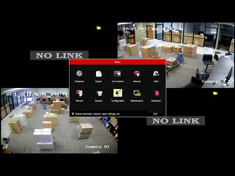 How to setup DHCP or Static IP Address for Hikvision NVR