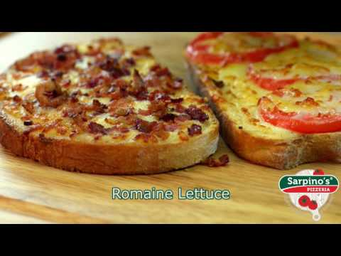 BLT Sandwich - Sarpino's Pizzeria Video