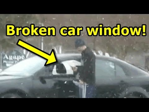 Funny Prank Car Break-in