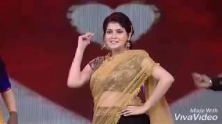 Nayagi serial actress kanmani clear navel show