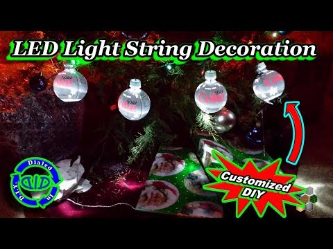 Make Cool String of Decorative LED Lights - DIY Project Tutorial