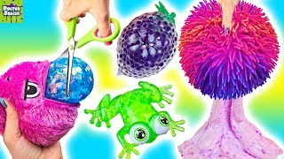 Download Opening Up Squishy Toys! Orb Plopzz And Bubble Drops! Doctor Squish Video