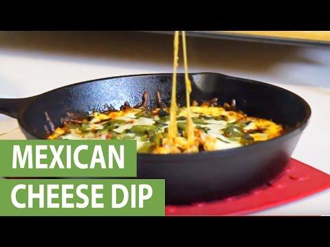 Delicious recipes: Mexican cheese dip 'Queso Fundido'