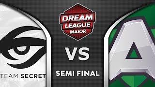 Secret vs Alliance Semi Final Leipzig Major 2020 DreamLeague 13 Highlights Dota 2