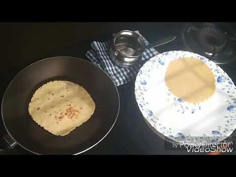 How to make Gluten Free Roti or chapati or paratha or phulka or fulka or aki|Jowar roti |using belan