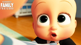 The Boss Baby Talks Meal Negotiation for the family animated movie