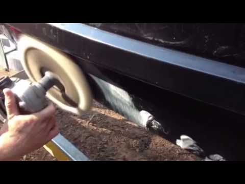 Seadoo hull repair - How to repair scuff marks