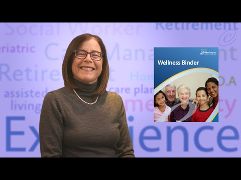 Elder Caring Inc - Introducing Our New Wellness Binder