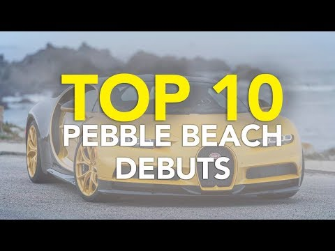 Top 10 Best New Cars and Concept Cars from 2017 Monterey Car Week | Best Pebble Beach Debuts