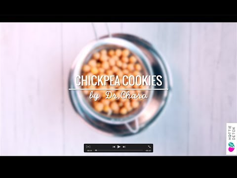 CHICKPEA COOKIES! Great flat tummy recipe for night snacking!