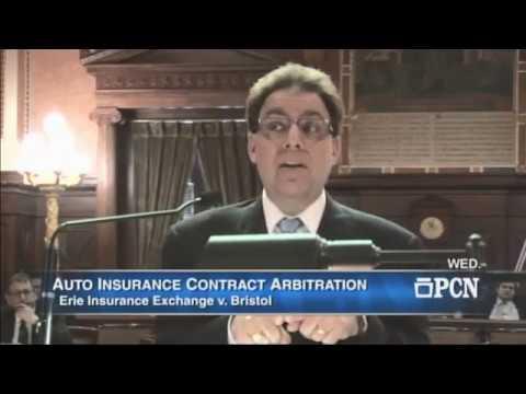 Pa. Supreme Court Oral Argument - Bristol v Erie Insurance - May 10, 2017