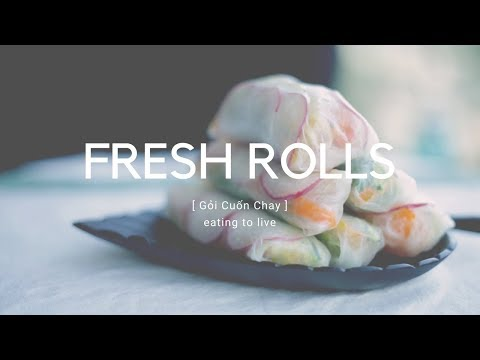 How to Make Spring Rolls 🌯 Gỏi Cuốn Chay 🌱 Easy  and Gluten Free