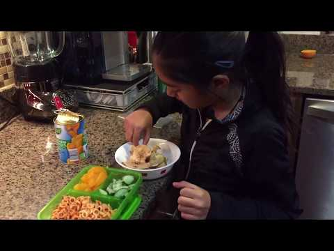 Sumaiya Making Pasta for Lunch