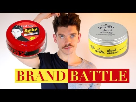 Got2B Glued Wax vs. Gatsby Styling Wax  | Brand Battle