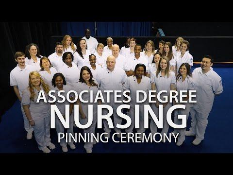 Associates Degree of Nursing Pinning Ceremony