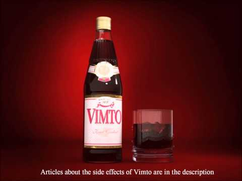 Vimto has bacteria in it and can lead to serious diseases in the long run