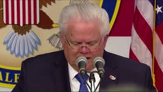 Pastor John Hagee Delivers Benediction at Opening of US Embassy in Jerusalem, Israel