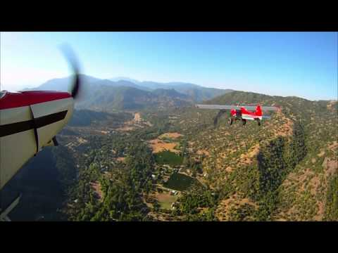 Flying Low in a Super Cub Bush Plane