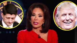 Trump 'Coincidentally' Tweets Promo for 'Judge Jeanine' On Night She Demands Paul Ryan's Resignation