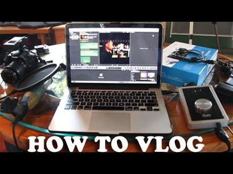 How To VLOG (camera and equipment)