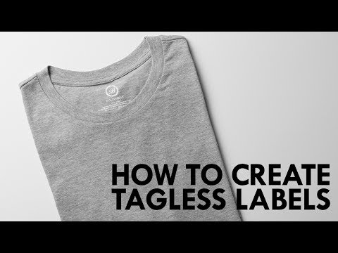 How To Private Label Your T-Shirts By Creating Tagless Labels Using Forever Flexsoft