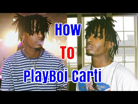 HOW TO GET DREADS LIKE PLAYBOI CARTI(freeform dreads)
