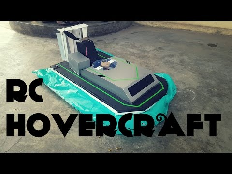 Home Built RC Hovercraft from scratch - #24