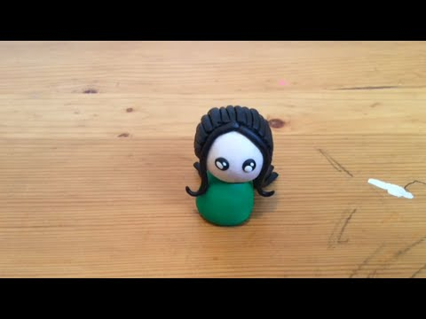How to Make a Clay Chibi Person