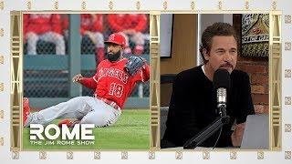 Brian Goodwin Talks Angels Baseball   The Jim Rome Show