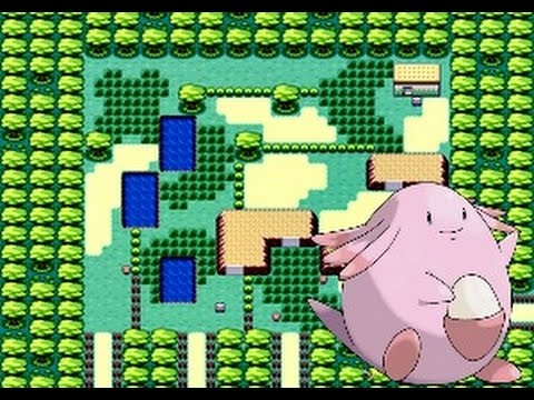 Pokeon fire red   CATCHING CHANSEY
