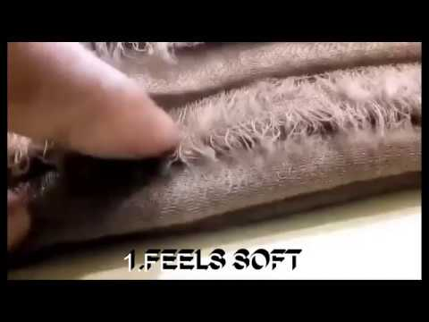 How to tell real pashmina / cashmere !