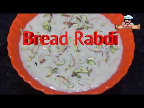 Holi Special Delicious Bread Rabri Recipe / ब्रेड रबरी /by Deepa Khurana