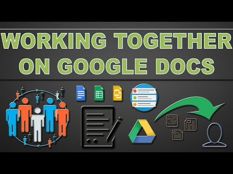 Google Drive – Multiple people can work on same document at same time