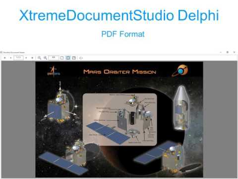 XtremeDocumentStudio Delphi - Process DOC, DOCX, PDF & images