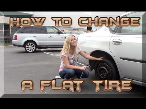 How to Change A Flat & Install A Spare Tire - Hubcaps.com